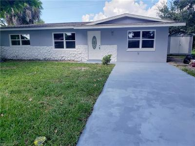Fort Myers Single Family Home For Sale: 6524 Converse Street