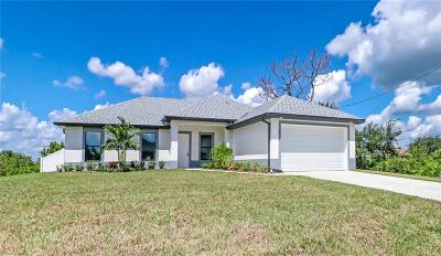 Lehigh Acres Single Family Home For Sale: 2714 26th St SW