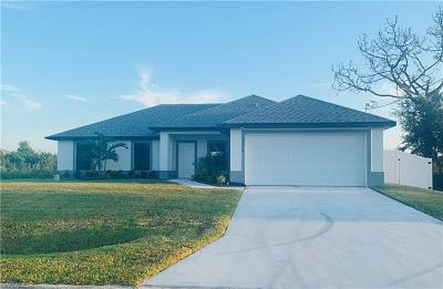 Lehigh Acres Single Family Home For Sale: 3007 25th St SW
