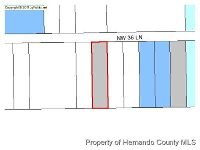 Residential Lots & Land For Sale: NW 36 Th Lane