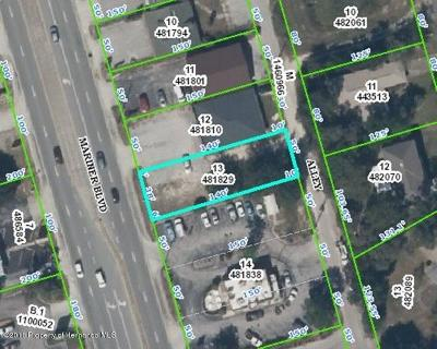 Spring Hill FL Commercial Lots & Land For Sale: $130,000