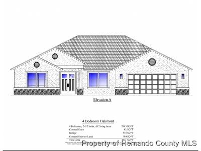 Weeki Wachee Single Family Home For Sale: 13494 Ricebird Avenue