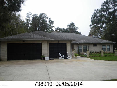Brooksville Single Family Home For Sale: 603 Brierfield Court