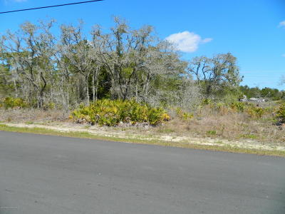 Brooksville FL Residential Lots & Land For Sale: $20,000