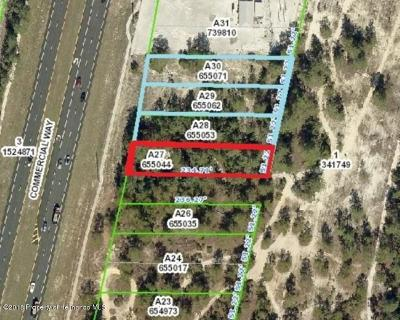 Commercial Lots & Land For Sale: 7000 Commercial Way