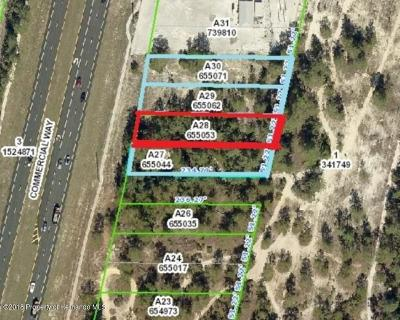 Commercial Lots & Land For Sale: 7004 Commercial Way