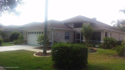 New Port Richey Single Family Home Active - Under Contract: 1747 Orchardgrove Avenue