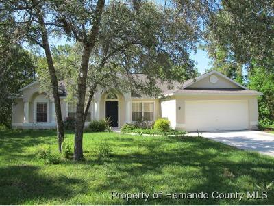 Homosassa Single Family Home For Sale: 18 Sanders Circle