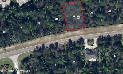Homosassa Residential Lots & Land For Sale: 6027 W Oak Park Boulevard