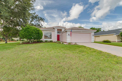 Weeki Wachee Single Family Home For Sale: 8394 Bethany