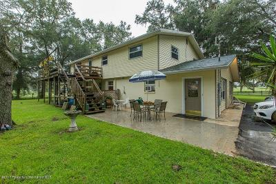 Brooksville Single Family Home For Sale: 5483 Neff Lake