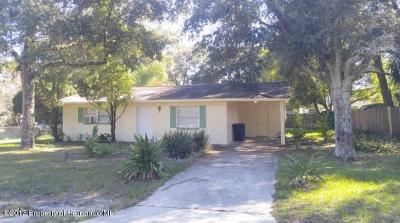 Brooksville Single Family Home Active - Under Contract: 27024 Roper Road