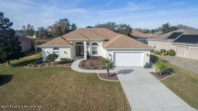 Weeki Wachee Single Family Home For Sale: 8372 Mobile Circle