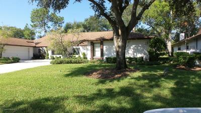 New Port Richey Single Family Home For Sale: 3521 Niblick Court