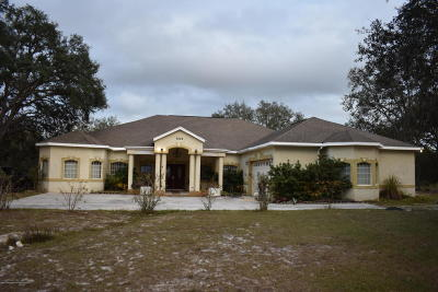 Webster Single Family Home For Sale: 9224 Native Rock Road