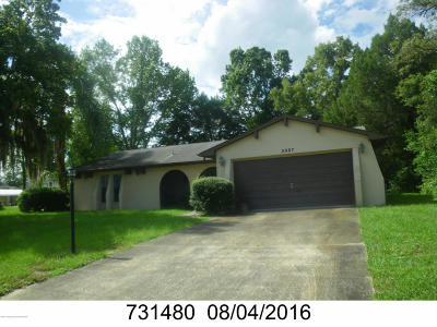 Spring Hill Single Family Home For Sale: 5987 Sunday Road