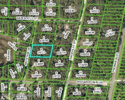 Webster FL Residential Lots & Land For Sale: $9,000