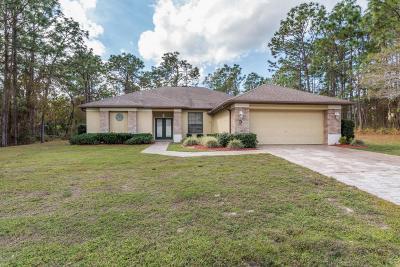 Homosassa Single Family Home For Sale: 3 Shamrock Court