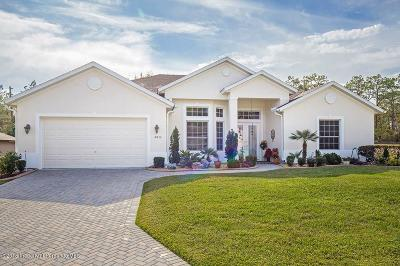 Weeki Wachee Single Family Home For Sale: 8834 Mississippi Run