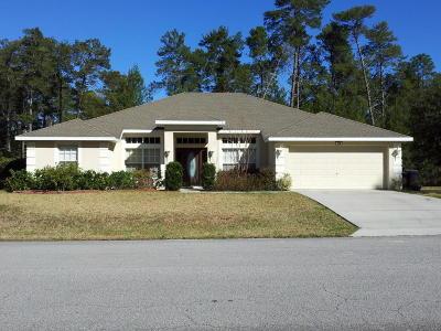 Homosassa Single Family Home For Sale: 103 Grass Street