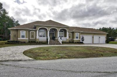 Weeki Wachee FL Single Family Home For Sale: $615,000