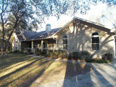 Ridge Manor Single Family Home For Sale: 4448 Hickory Hammock Drive
