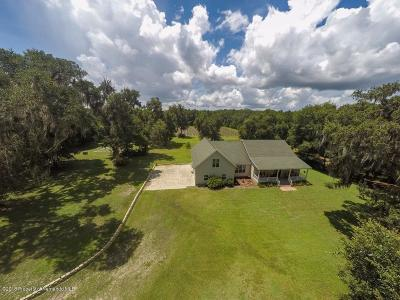 Brooksville Single Family Home For Sale: 3460 Goldsmith Road