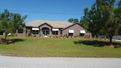 Weeki Wachee Single Family Home For Sale: 11053 Frigate Bird