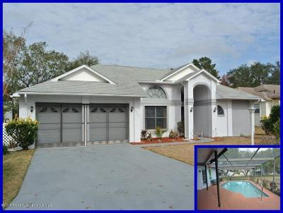 Spring Hill FL Single Family Home For Sale: $177,500