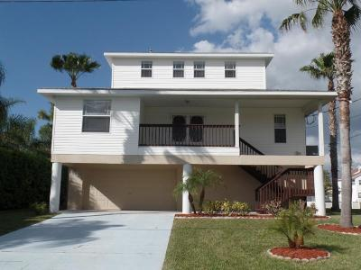 Hernando Beach Single Family Home For Sale: 3503 Jewfish Drive