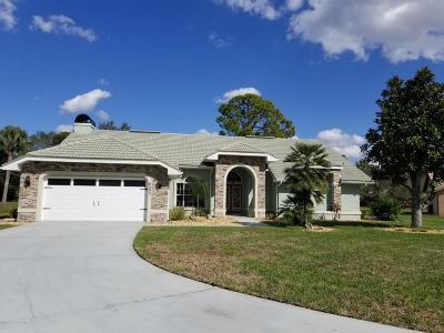 Weeki Wachee Single Family Home For Sale: 9285 Lafayette Court