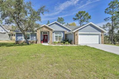 Lecanto Single Family Home For Sale: 5317 W Tortuga Loop