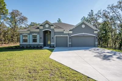Weeki Wachee Single Family Home For Sale: 11176 Campfield Road