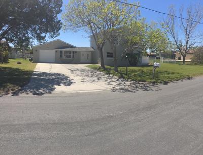 Hernando Beach Single Family Home For Sale: 3312 Gulfview