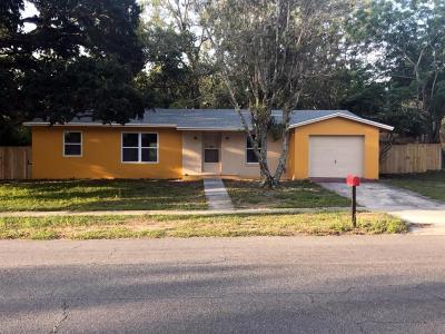 Spring Hill Single Family Home For Sale: 7214 Fireside Street