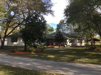 Brooksville Single Family Home For Sale: 2489 Lost Pine Trail