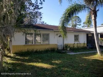 Port Richey Single Family Home For Sale: 5806 Siesta