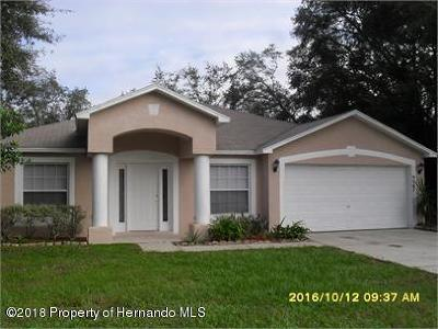 Single Family Home For Sale: 9047 Spring Hill