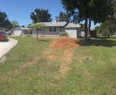 Hernando Beach Single Family Home For Sale: 5007 Cedarbrook