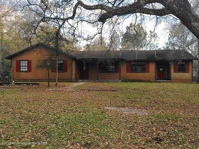 Brooksville Single Family Home For Sale: 22216 Chenoak Road