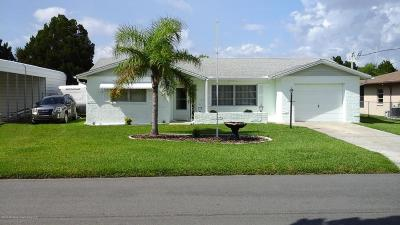 Hernando Beach Single Family Home For Sale: 4069 Gulfview Drive