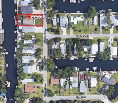 Weeki Wachee Single Family Home For Sale: 7099 Westwind Street