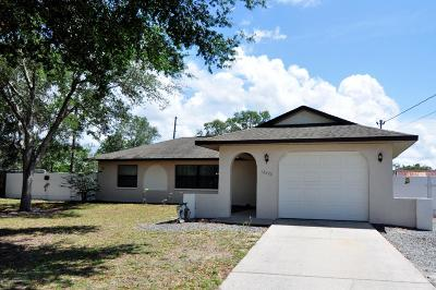 Brooksville Single Family Home For Sale: 12376 Pitcairn Street