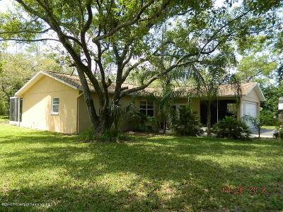 Brooksville Single Family Home For Sale: 13004 Star Road