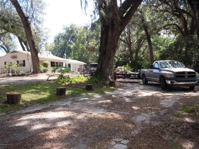 Brooksville Single Family Home For Sale: 7288 Griffin Road
