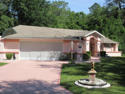 Homosassa Single Family Home For Sale: 16 S Douglas Court