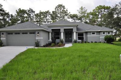 Homosassa Single Family Home For Sale: 9 S Graytwig Court