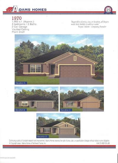 Brooksville Single Family Home For Sale: 7143 Wirevine Drive
