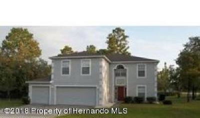Weeki Wachee Single Family Home For Sale: 11195 Marsh Wren Avenue