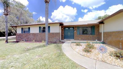 Weeki Wachee Single Family Home For Sale: 8169 Delaware